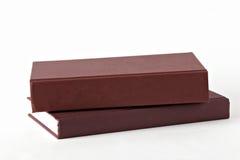 Twee boeken Stock Foto's