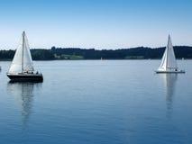 Twee boten Royalty-vrije Stock Fotografie