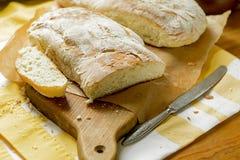 Twee broden van brood Stock Foto's