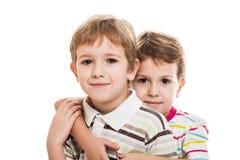 Twee broers Royalty-vrije Stock Fotografie