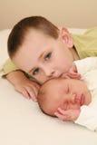 Twee broers Royalty-vrije Stock Afbeeldingen