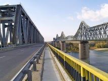 Twee bruggen Royalty-vrije Stock Foto's