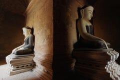 Twee Buddhas Royalty-vrije Stock Afbeeldingen