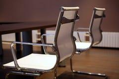 Twee bureaustoelen Stock Afbeelding