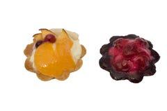 Twee cakes Royalty-vrije Stock Fotografie