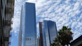 Twee Californië Plein in Los Angeles Van de binnenstad, Verenigde Staten stock afbeelding