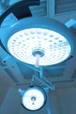 Twee chirurgische lampen in verrichtingsruimte Stock Afbeelding