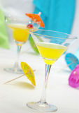 Twee Cocktails Royalty-vrije Stock Foto