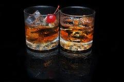 Twee Cocktails Royalty-vrije Stock Afbeelding