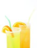 Twee Cocktails Stock Afbeeldingen