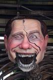 Twee dagen bij het begin van Viareggio Carnaval 's Stock Fotografie