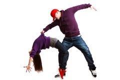 Twee dansers Royalty-vrije Stock Afbeelding