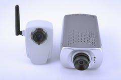 Twee digitale videocamera's Stock Afbeeldingen