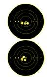 Twee doelstellingen stock afbeeldingen