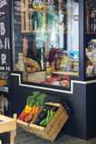 Twee dozen van groenten Stock Foto
