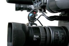 Twee dv-camcorders Stock Fotografie