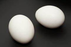 Twee eieren Royalty-vrije Stock Fotografie