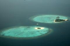 Twee eilanden Royalty-vrije Stock Foto's