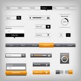 Twee elementen van het stijlenweb Stock Foto