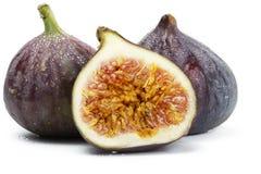 Twee en een half natte fig. Stock Foto's