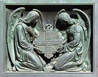 Twee engelen Stock Foto's