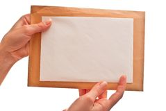 Twee enveloppen Stock Foto's