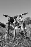 Twee fietsen Stock Fotografie