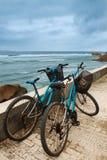 Twee fietsen Stock Foto's