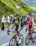 Twee fietsers Royalty-vrije Stock Foto
