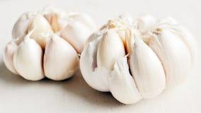 Twee Garlics Royalty-vrije Stock Fotografie