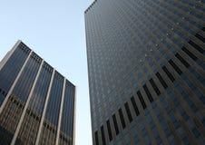 Twee gebouwen in New York royalty-vrije stock fotografie