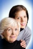 Twee generaties Royalty-vrije Stock Foto