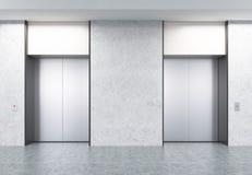 Hotel binnenlandse gang met gesloten deuren in 3d stock illustratie afbeelding 43676963 - Idee gang ingang ...