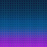 Twee gestemd in reliëf gemaakt hart op gradiëntachtergrond Gekleurde abstracte achtergrond Het document van het liefdethema vector illustratie