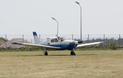 Twee-gezet vliegtuig Royalty-vrije Stock Fotografie