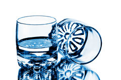 Twee glazen Stock Fotografie