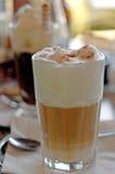 Twee glazen koffie stock foto