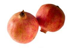 Twee granaatappels Royalty-vrije Stock Afbeelding