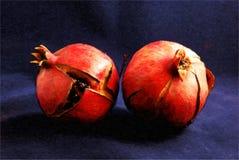 Twee Granaatappels Royalty-vrije Stock Foto