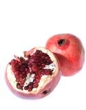 Twee granaatappels Stock Fotografie