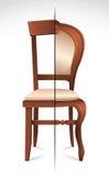 Halfs van stoelen Stock Afbeeldingen
