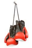 Twee handschoenen op spijker Royalty-vrije Stock Fotografie