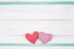 Twee harten Royalty-vrije Stock Afbeeldingen