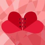 Twee harten Stock Afbeeldingen