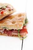 Twee heerlijke sandwiches Royalty-vrije Stock Fotografie