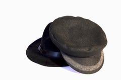 Twee hoeden Royalty-vrije Stock Foto's