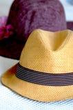 Twee hoeden Royalty-vrije Stock Fotografie