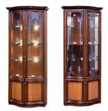 Twee houten oude stijldienst. royalty-vrije stock foto