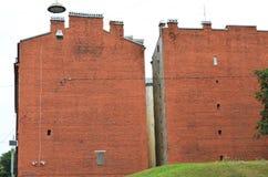 Twee huizen Royalty-vrije Stock Foto