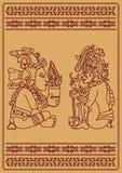 Twee Indianen Royalty-vrije Stock Afbeeldingen